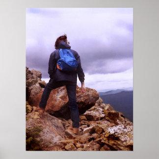 Mountain Climber Poster