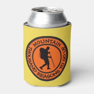 Mountain climbing can cooler