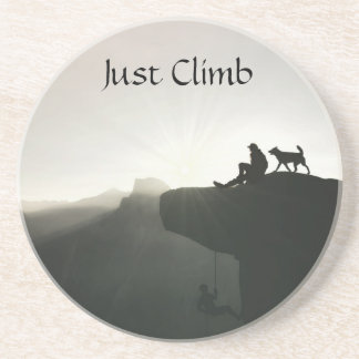 Mountain climbing Yosemite motivation and humor Coaster