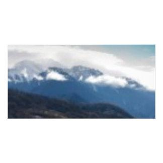 Mountain Cloud Photo Card