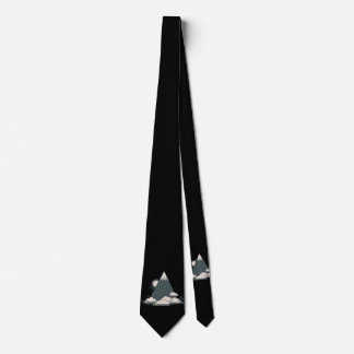 Mountain Cloud Tie