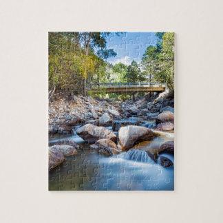 Mountain Creek Bridge Puzzle