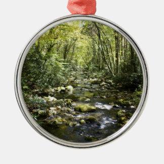 Mountain Creek Metal Ornament