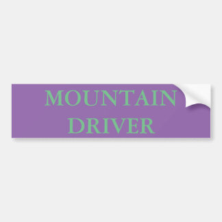 MOUNTAIN DRIVER BUMPER STICKER