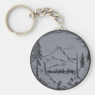 Mountain Escapes Series Keychain
