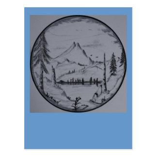 Mountain Escapes Series Postcard