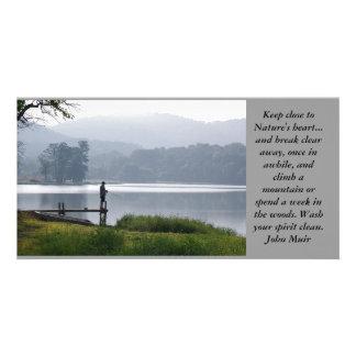 Mountain Fisherman Photo Cards