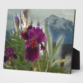 Mountain Flowers Plaque