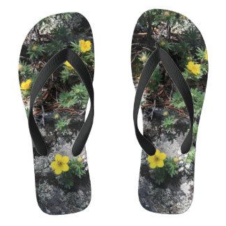 Mountain Flowers Thongs