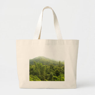mountain   forest tote bags