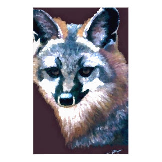 Mountain Fox Hunters Wildlife Forest Animals Gifts Custom Stationery