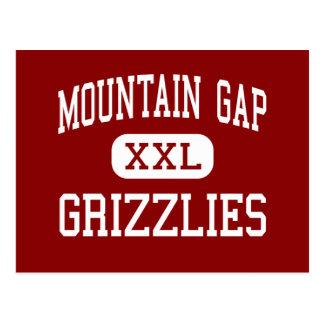 Mountain Gap - Grizzlies - Middle - Huntsville Postcard