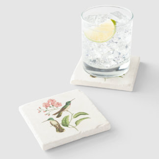 Mountain Gem Hummingbird Stone Coaster