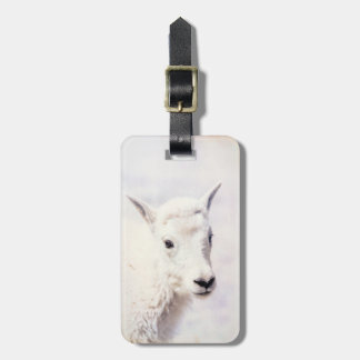 Mountain Goat Baby Luggage Tag