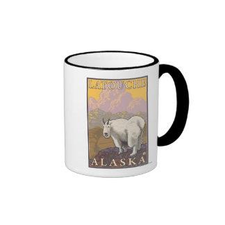 Mountain Goat - Latouche, Alaska Coffee Mugs