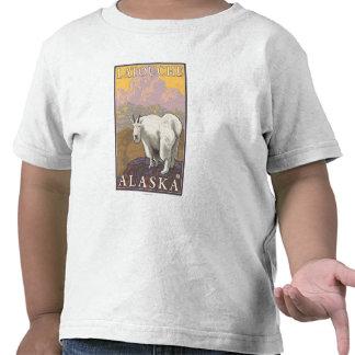 Mountain Goat - Latouche, Alaska Tshirts