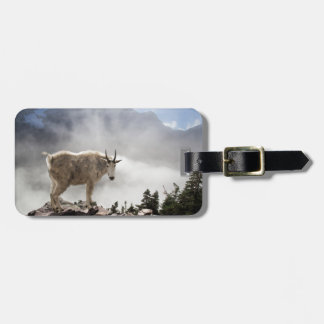 Mountain Goat on Gunsight Pass Trail Luggage Tag