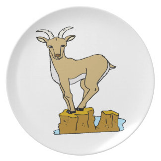 Mountain Goat Plate