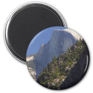 Mountain Half Dome Yosemite Streams Magnets
