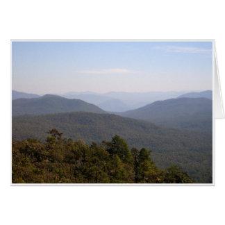 Mountain Haze Greeting Card