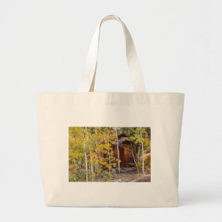 Mountain Hideaway Large Tote Bag