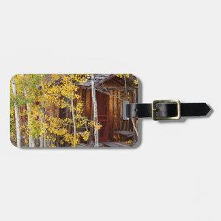 Mountain Hideaway Luggage Tag