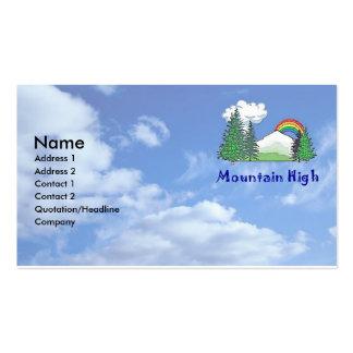 Mountain High Business Card