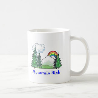 Mountain High Camp Basic White Mug