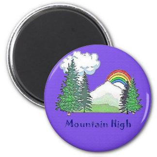 Mountain High Camp Fridge Magnet