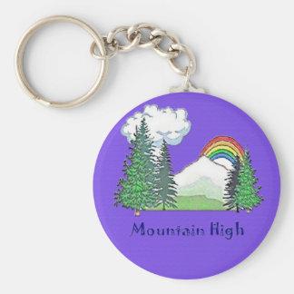 Mountain High Camp Key Chains