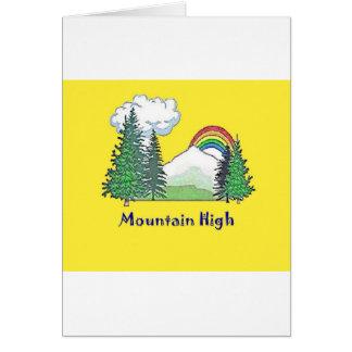 Mountain High Camp logo Cards