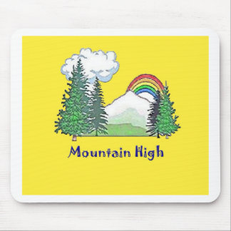 Mountain High Camp logo Mouse Pads