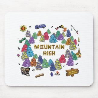 Mountain High Camp Tee Shirt Design 07 Mouse Pads