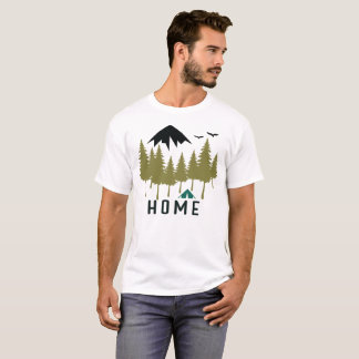 Mountain Home Camping Outdoors T-Shirt