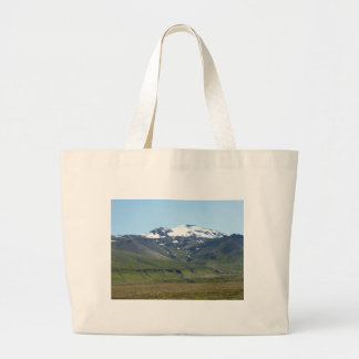 Mountain in Iceland Tote Bags