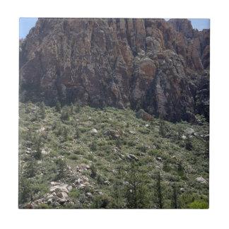 Mountain in Red Rock NV Ceramic Tile