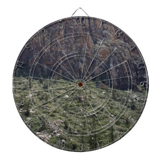 Mountain in Red Rock NV Dartboard