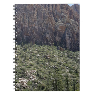 Mountain in Red Rock NV Notebooks
