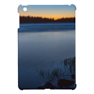 Mountain Lake Glow iPad Mini Cover