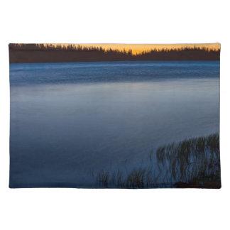 Mountain Lake Glow Placemat