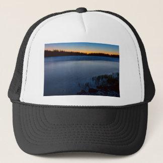 Mountain Lake Glow Trucker Hat