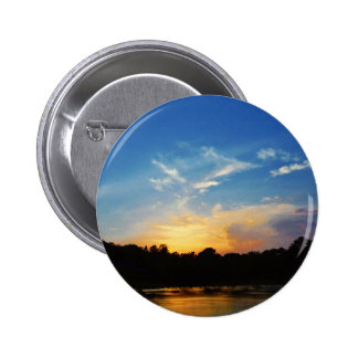Mountain Lake Sunset Buttons