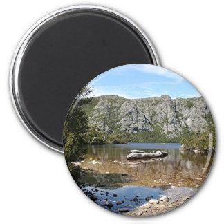 Mountain lake, Tasmania, Australia Magnet