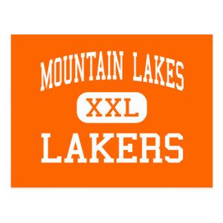 Mountain Lakes - Lakers - High - Mountain Lakes Post Card