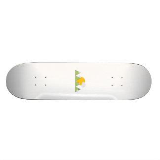Mountain landscape 21.3 cm mini skateboard deck