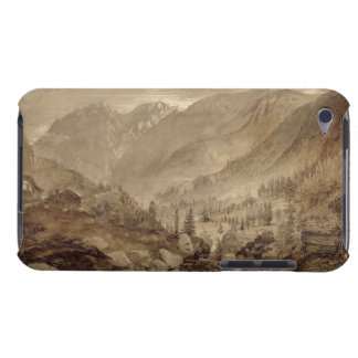 Mountain Landscape, Macugnaga, 1845 (pen & brown i Barely There iPod Covers