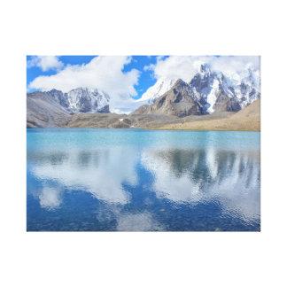 Mountain Landscape Nature Canvas Print