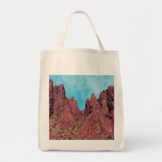 Mountain Landscape, Palm Canyon Arizona Tote Bag