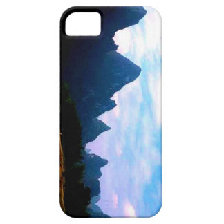 Mountain landscape phone case iPhone 5 cover