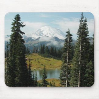 Mountain Landscape Photo Mouse Pad
